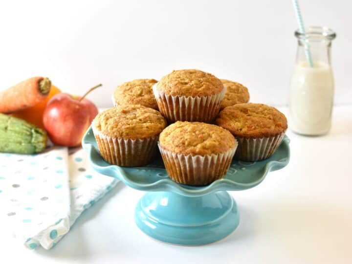 veggies and fruits muffins