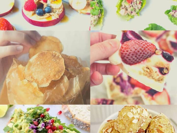 15 healthy and easy snack ideas